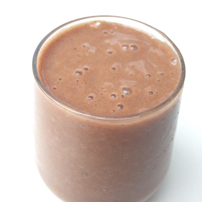 Chocolate and Banana Non Milk - shake