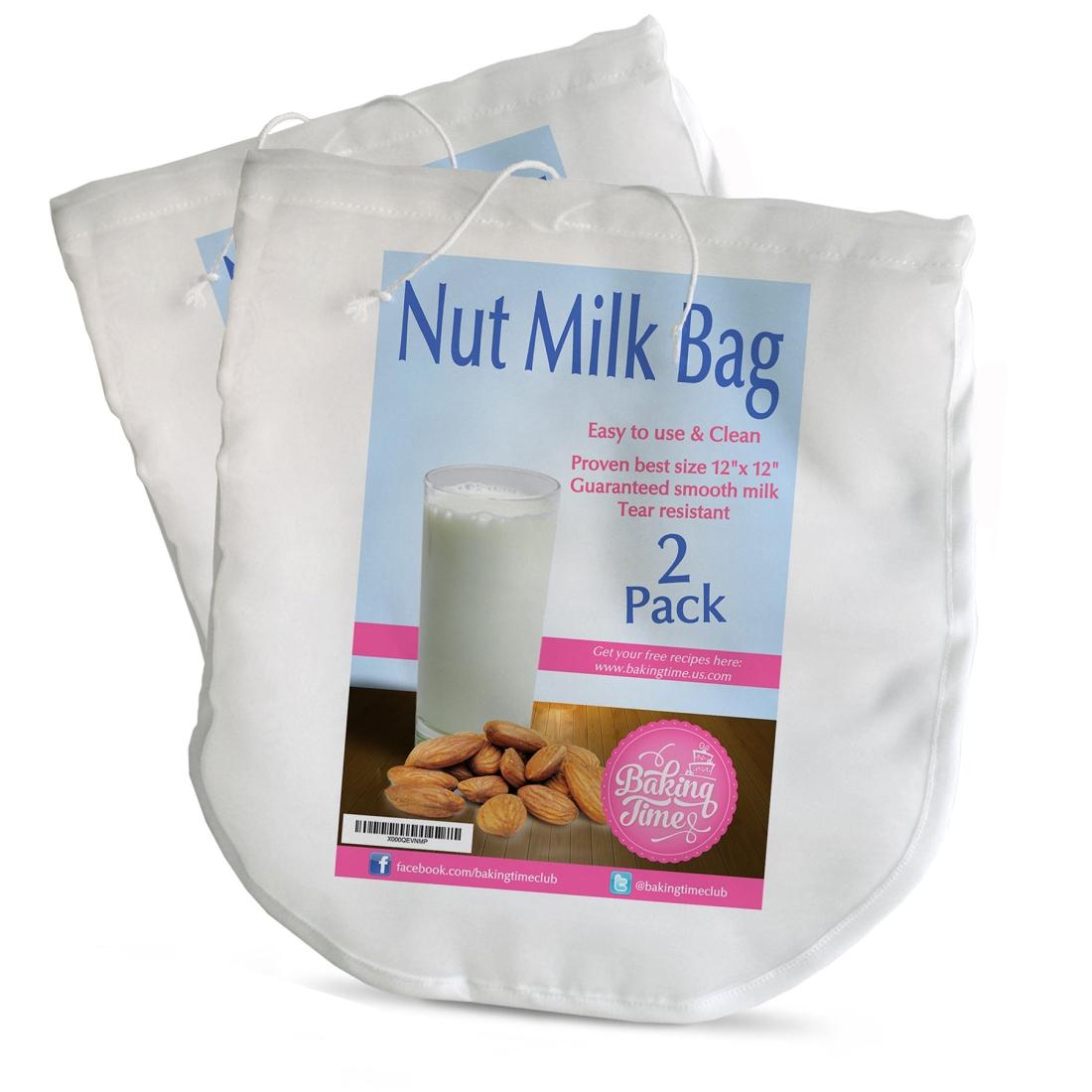 Nut milk bag 2 pack