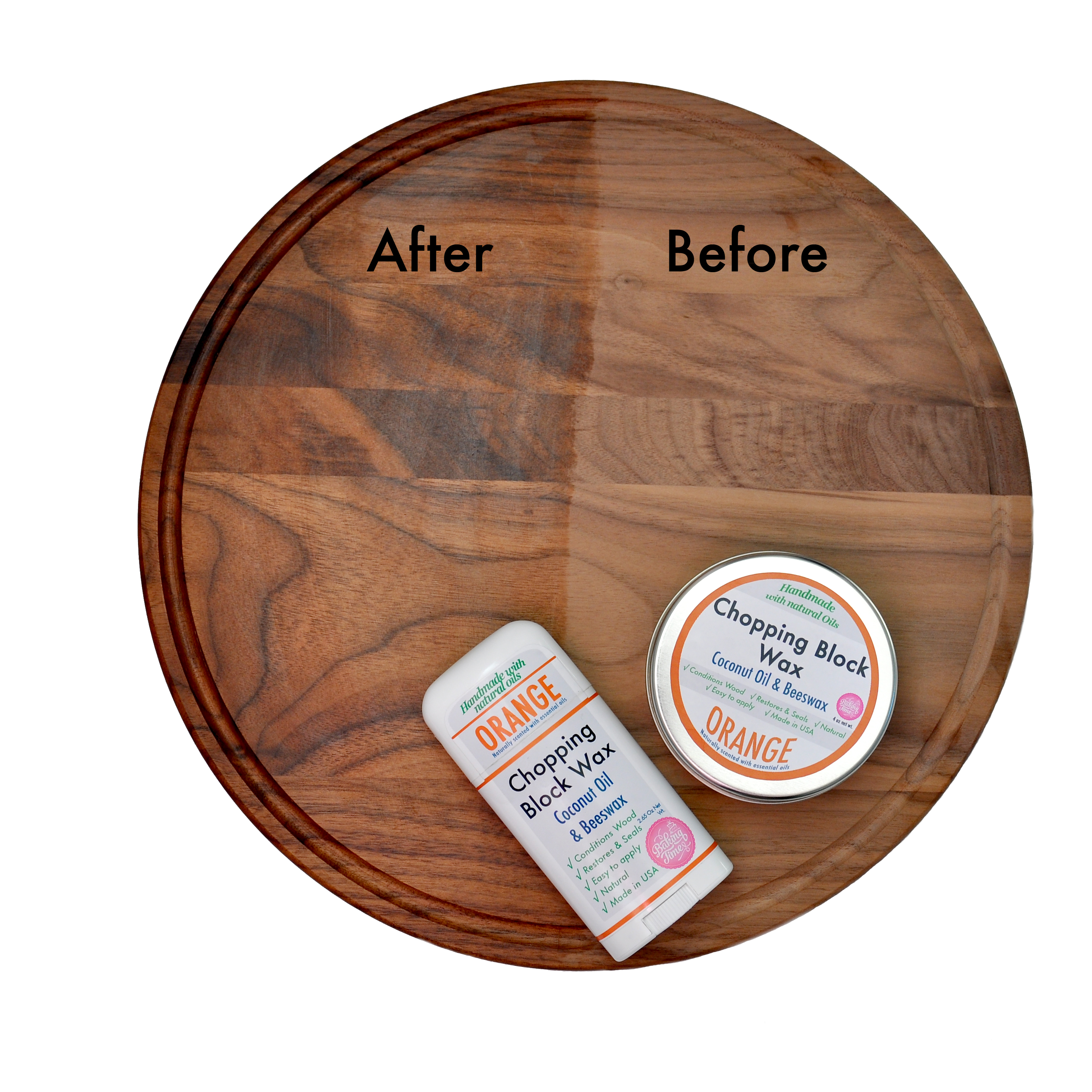 4 Natural Chopping Block Waxes With Essential Oils Baking Time Club